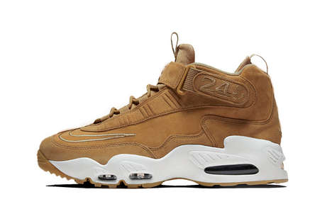 Rebooted Wheat Sneakers - Nike Released a New Air Griffey Max 1 with a Subdued Colorway for Fall