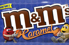 Caramel-Filled Candies