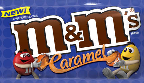 Caramel-Filled Candies - The New M&M's Flavor Swaps Peanuts for Caramel Filling