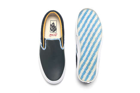 Shanghai-Inspired Sneakers - This New Vans Classic Slip-On Comes from a Collaboration with ACU