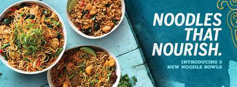 Wok-Fired Noodle Bowls - Pei Wei Recently Added Three New Noodle Bowls to Its Asian Fusion Menu