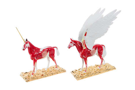 $80,000 Horse Models - These Damien Hirst Sculptures are Miniature Versions of His Celebrated Works
