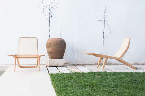 Versatile Contemporary Lounge Chairs - Marco Sousa Santos' Design is for Indoor and Outdoor Use
