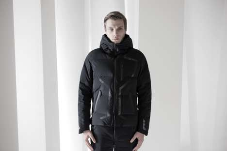 Body Heat-Adjusting Jackets - The New Descente Line Boasts High-Tech Fabric to Protect Its Wearer