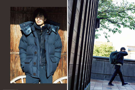 Exclusive Japanese Outerwear - The North Face's Japanese Collection Features an Editorial Campaign