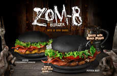 Zombie-Inspired Burger Buns - Burger King Singapore is Celebrating Halloween with Its Zom-B Burgers