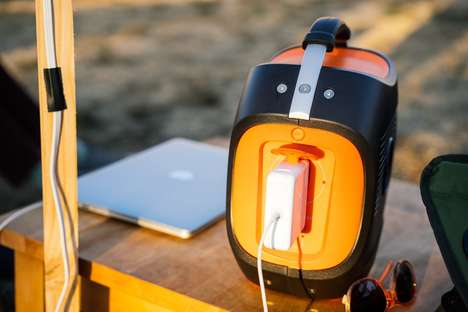 Splashproof Solar Power Banks - The Jackery Power Pro Offers An Alternative to Bigger Generators