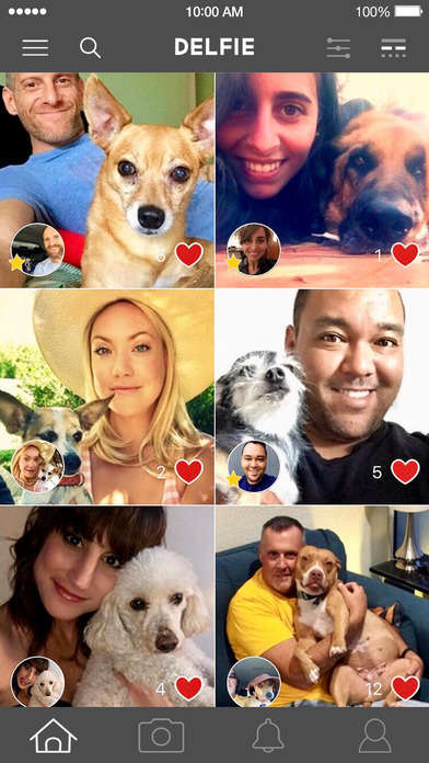 Canine Selfie Apps - The Delfie App Lets You Take Selfies With Your Furry Best Friend