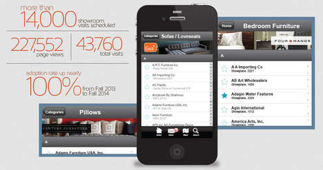 Furniture Market Apps - This App Promotes the Massive High Point Furniture Market's Offerings