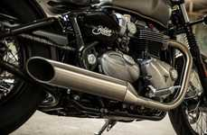 The Bonneville Bobber Offers Retro Styling & High-Powered Performance