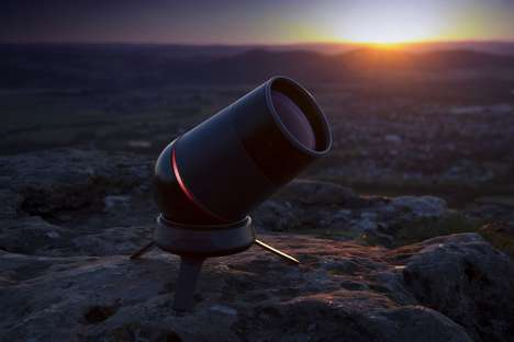 Stargazer Telescope Cameras - The Aeon Telescope Kindler Brings the Heavens Down to Devices