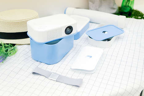 Compact Portable Projectors - The 'Layer' Projector Packs Everything into One Minuscule Box