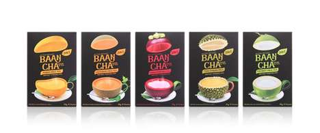 Thai Fruit Teas - This Collection of Teas are Infused with Popular Fruits in Thailand