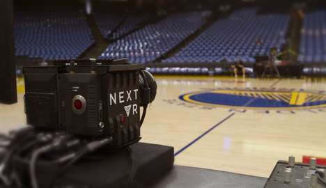 VR Basketball Game Streams - NextVR and the NBA Have Partnered to Offer Live VR Streams of Games