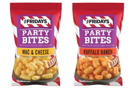 Resturant Brand Party Snacks - TGI Fridays' Party Bites Now Come in Two Restaurant-Inspired Flavors