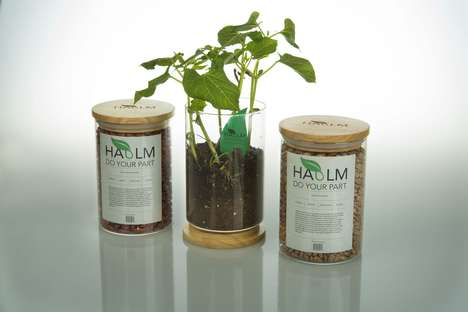 Dried Bean Plant Packaging - These Dried Organic Beans Allow Consumers to Grow Their Own Plants