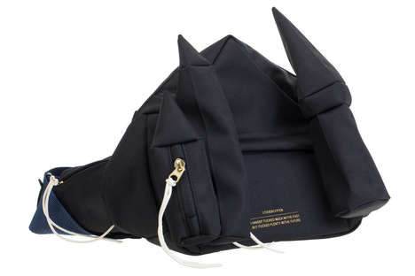 Luxurious Lyrical Waist Bags - The New Waist Bags from UNDERCOVER Reference a Patti Smith Song