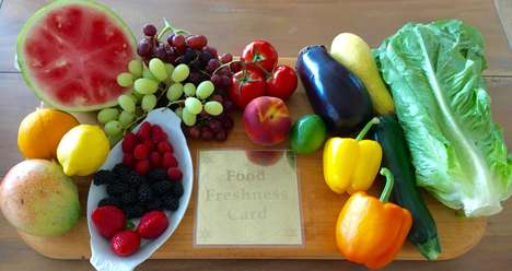 Technological Food Preservers - The Food Freshness Card Uses Electromagnetic Wave Technology