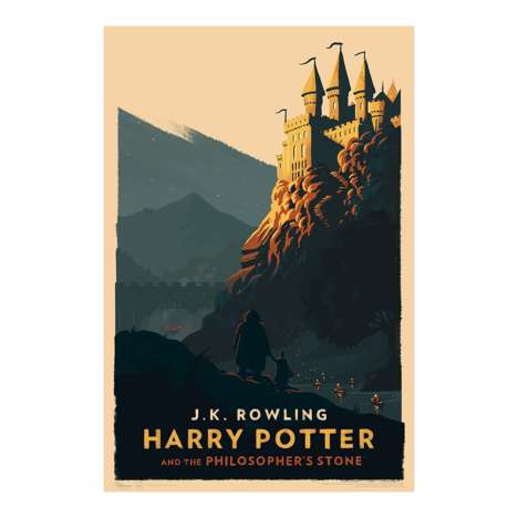 Wizard Series Posters - These Harry Potter Posters Reveal Variations of Hogwarts