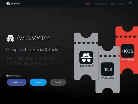 Intelligent Travel Search Engines - 'AviaSecret' Uses Smart Algorithms to Find the Best Deals