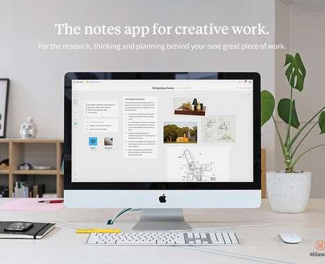 Creative Professional Organization Apps