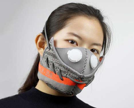 Deconstructed Sneaker Masks