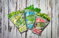 The 'Beleaf' Green Produce Packaging Encourages a Healthier Lifestyle