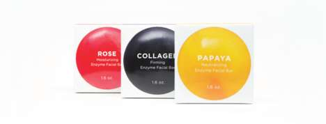 Fruit Enzyme Soap Bars - These Soap Bars Were Designed to Improve the Appearance of Skin