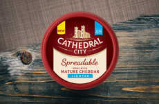 The Cathedral City Spreadables Merge Taste with a Healthier Recipe