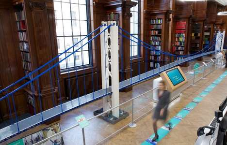 Record-Breaking LEGO Bridges - The 'Bridge Engineering' Exhibition Reveals a Large LEGO Bridge