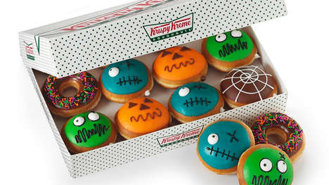 Ghoulish Halloween Donuts - Krispy Kreme is Celebrating Halloween with a Collection of Spooky Donuts