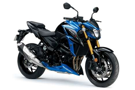 Aggressively Accelerating Motorbikes - This Powerful Motorbike Offers Traction and Brake Control