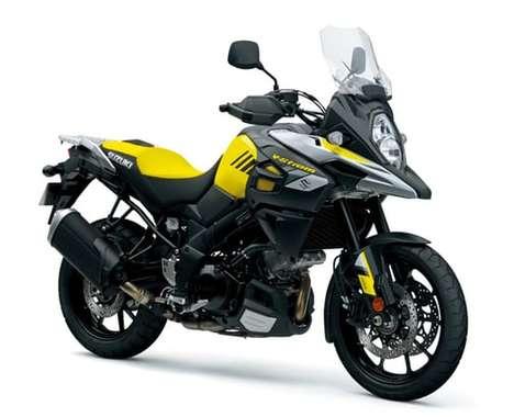 Adventurous Aerodynamic Motorbikes
