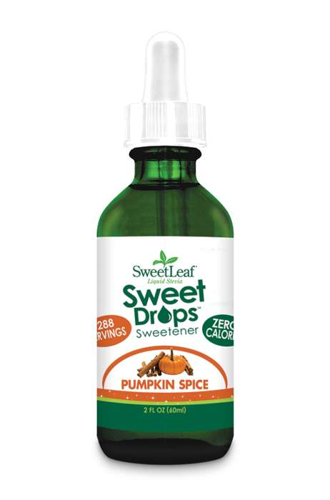 Spiced Pumpkin Sweeteners - SweetLeaf's Liquid Stevia Sweetener Comes in a Pleasing Fall Flavor