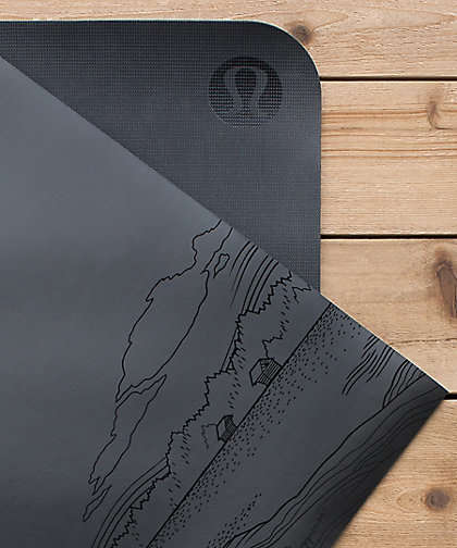 Canadiana Yoga Mats - Lululemon's Limited-Edition Reversible Yoga Mats Celebrate Canadian Scenes