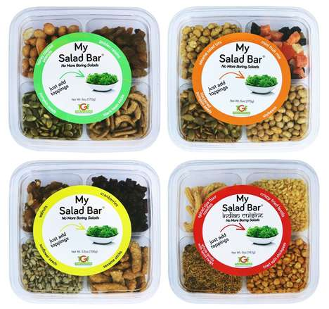 Salad Topping Kits - 'My Salad Bar' from Truly Good Foods Offers Assorted Salad Toppings