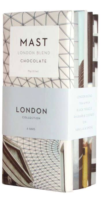 City-Inspired Chocolate Bundles - MAST's Themed Chocolates Capture the Essence of Global Cities