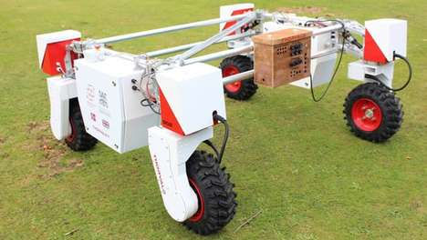 Moisture-Measuring Robots - This Agricultural Robot Helps Farmers Water Their Crops Optimally