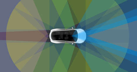 Autonomous Electric Cars - All Model S and X Vehicles in Production Will Be Self-Driving Teslas