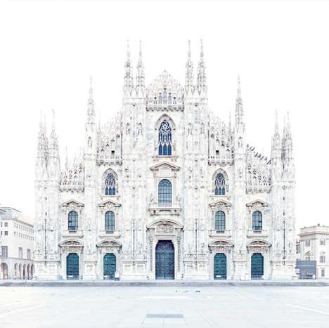 Immaculate Italian Architecture Photography - David Burdeny Documents His Travels with a Unique Lens