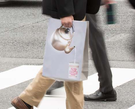 Noodle Preparation Shopping Bags