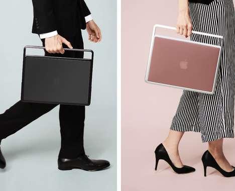 Stylish Aluminum Laptop Handles