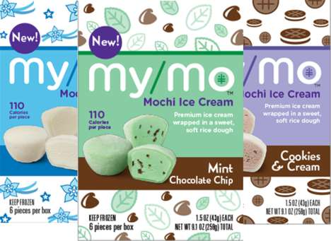 Asian-Inspired Frozen Desserts - Mikawaya's New Mochi Ice Cream Puts a Twist a Popular Asian Treat