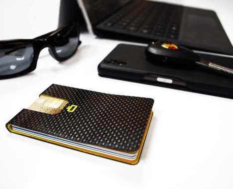 Card-Sliding Clip Wallets