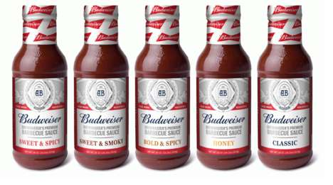 Premium Beer Brand Sauces - The New Budweiser-Brand Sauces are Meant to Complement the King of Beers