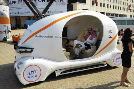 Autonomous Printed Vehicles - 'WiGo' is the First 3D-Printed Self-Driving Vehicle in the UAE