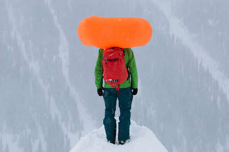 Avalanche Rescue Packs - The Arc'teryx Voltair Inflates to Keep Hikers Safe in Avalanches