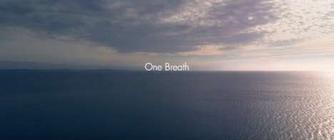 360-Degree Freediving Videos - Nicorette's 'One Breath' Shows a Dive by Former Smoker Daan Verhoeven