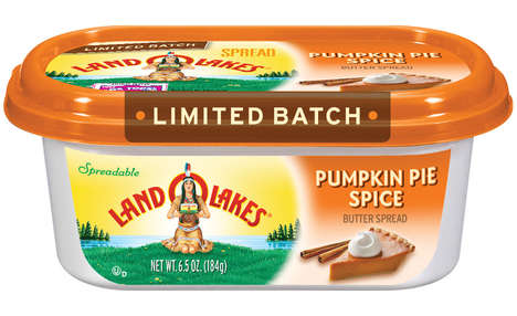 Spreadable Pumpkin Butters - Land O' Lakes Butter Now Comes in a Seasonal Pumpkin Spice Flavor