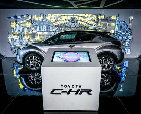 Artful Automotive Pop-Ups